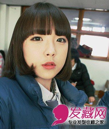 非常清爽个性短发发型 甜美可爱更显高(4)