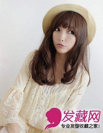 柔美的长发蛋卷头发型 温柔可爱超减龄(4)