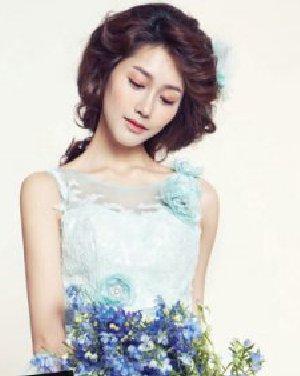 韩式新娘发型设计 打造三月最美新娘图片