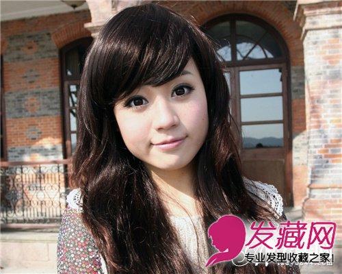 """学会这样剪刘海范冰冰""""零风险""""变美  刘海 →最新长脸发型设计 巧用图片"""