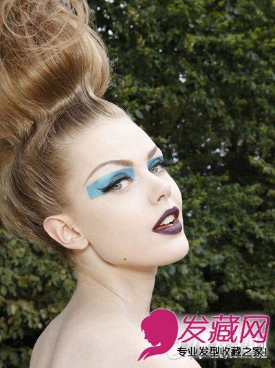 国际范另类发型 充满了另类的朋克气息