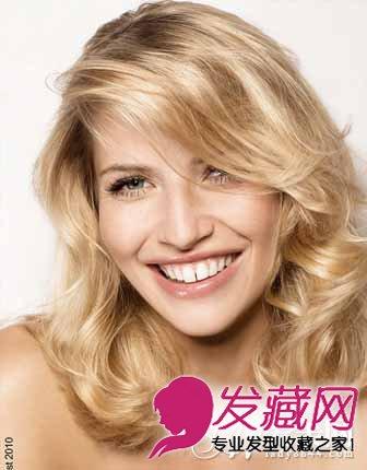 外国人卷发发型 性感时尚魅惑感十足(2)图片