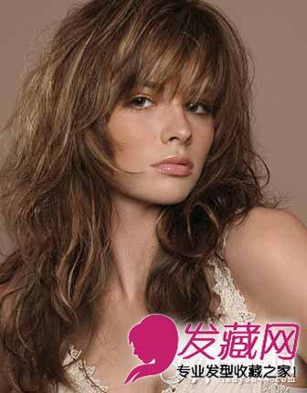 外国人卷发发型 性感时尚魅惑感十足(3)
