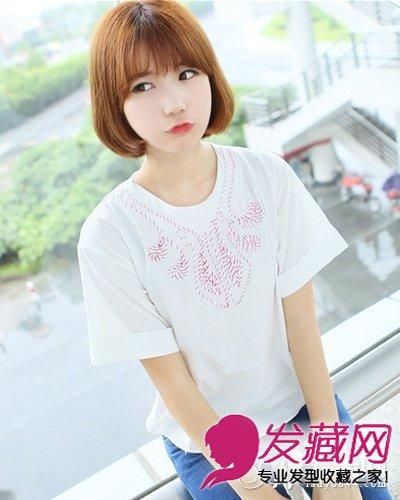 甜美女学生装发型 清纯甜美丸子头(6)图片