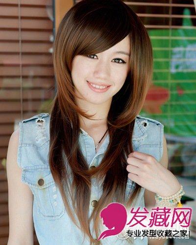 甜美女学生装日记清纯甜美发型头(8)大全初中丸子v日记图片