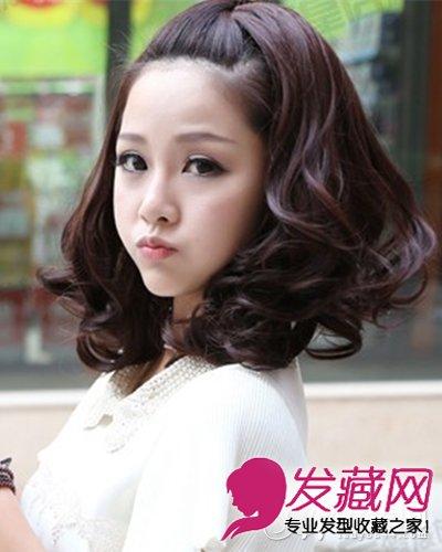时尚可爱韩式短卷发发型 短发特别显气质(3)图片