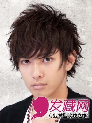 男生长脸发型设计 卷发时尚不失帅气