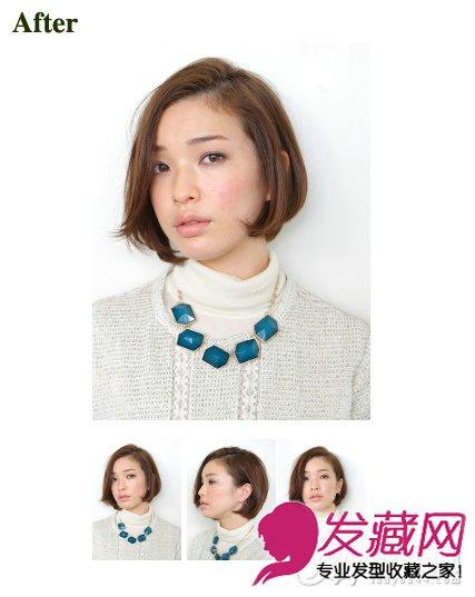 刘海 →学会刘海编发更实用 短发怎么扎简单好看                 这
