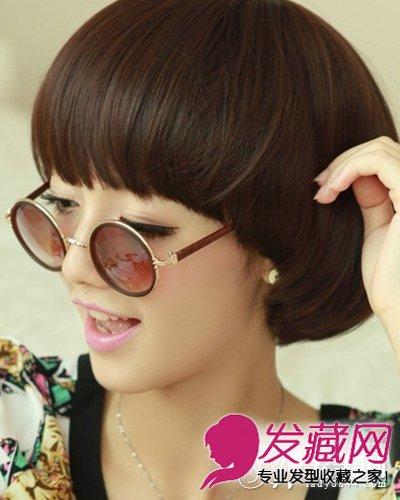 柔顺感极强的蘑菇头 短发发型,瞬间把潮流时尚引领最高端,细心修剪