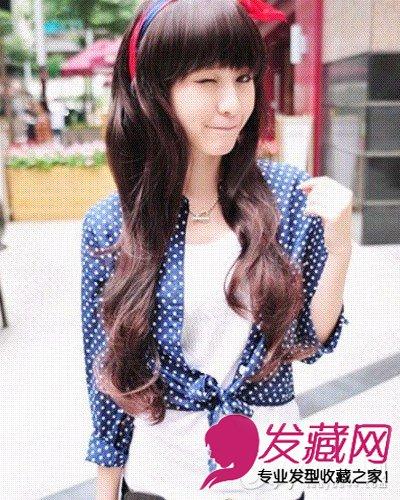 脸大的女生适合什么内卷短发发型 刘海瘦脸(2)