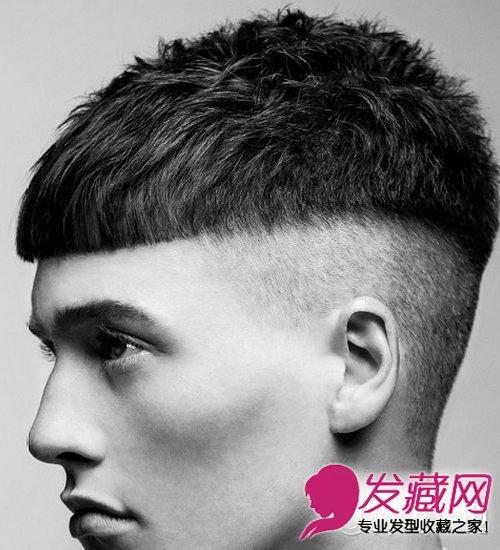 【图】男生帅气发型图片