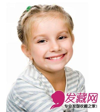 女宝宝发型图片 时尚尽显可爱本色(3)