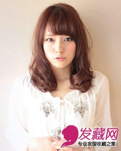 【图】斜刘海发型设计