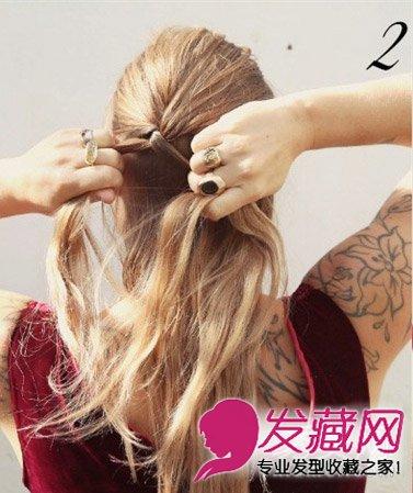 编发简单优雅麻花辫盘发 简单的皇冠发饰(3)