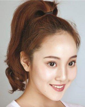 长发变短发&蓬松丸子头 时尚波波头发饰发型(3)