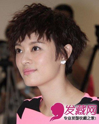发型网 发型设计 明星发型 > 女星同款发型比拼 李小冉短发气质惹人爱图片