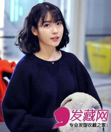 韩式短发烫发发型 尽显女生甜美俏丽(3)图片