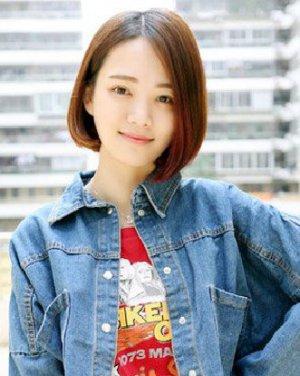 最新女生短发发型图片 帅气中透着干练感