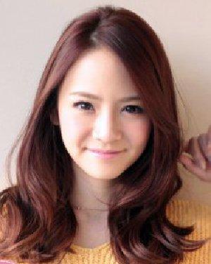 【图】日系甜美中长发烫发发型
