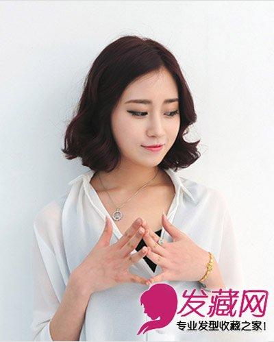 长脸女生适合的短发发型 轻熟女最爱韩式短 →女生长脸适合什么发型图片