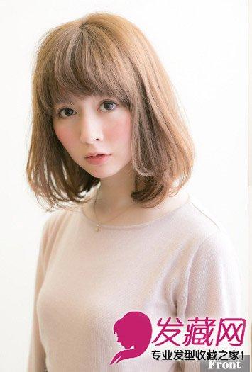 女生喜欢的发型 →短发梨花头 清爽利落甜美可人发型 →韩国的梨花头