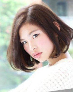 2015年最新波波头发型推荐 圆你小脸梦(2)