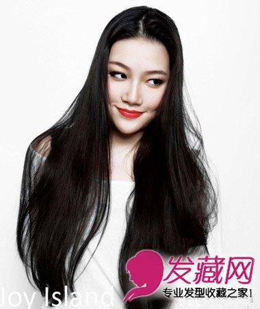 试试侧分卷发吧 →韩式甜美中长发烫发 方脸适合的发型设计