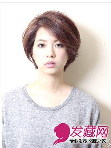 简单时尚短碎发 刘海剪出碎发的造型(4)