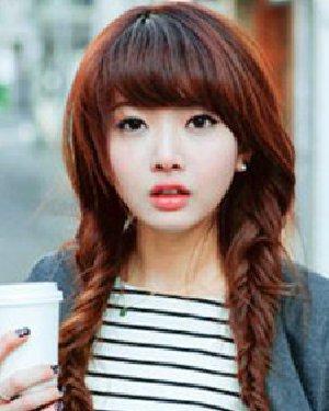 韩式发型的辫子编发 注重淑女甜美的风格图片