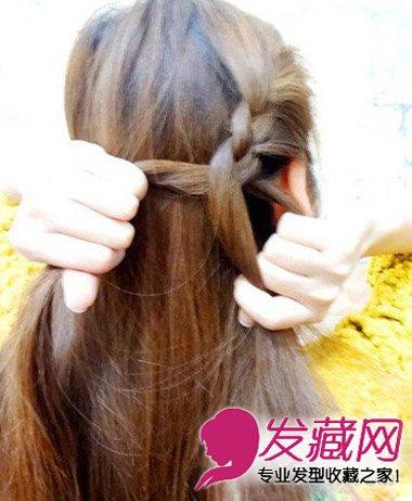 扎个婉约低发髻 →最新中长发发型图片 韩式时尚齐肩发型的设 →简单