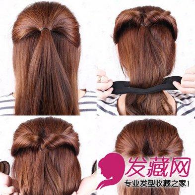 【图】韩式发型扎法图解图片图片