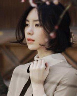 知性OL气质的大脸适合的发型 修颜更瘦脸