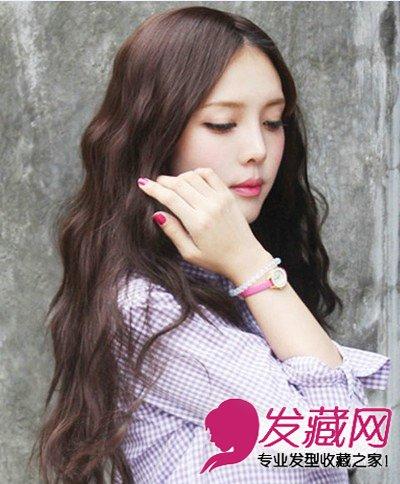 韩国女生可爱发型 鹅蛋脸适合的发型设计