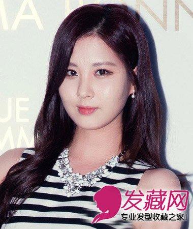 2015流行长发烫发 韩式卷发发型设计(7)