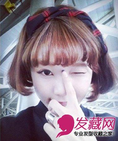 怎么自己剪刘海教程 →干净清爽的刘海编发真的适合夏天!