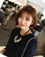 2015最新韩系女生短发 小波浪的整烫发型
