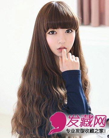 卷发变长发公主 秀发显得丰盈富有弹性(4)图片