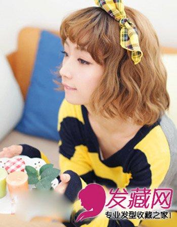 齐刘海的波波头短发发型 风格百变超流行(2)