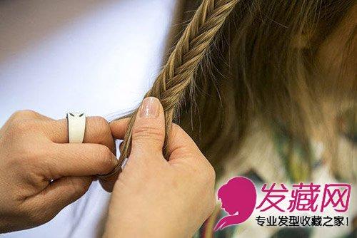 超仙森女发型 波西米亚风编发发型图解(4)