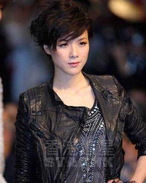 陈茵媺短发发型 蓬松的发型造型