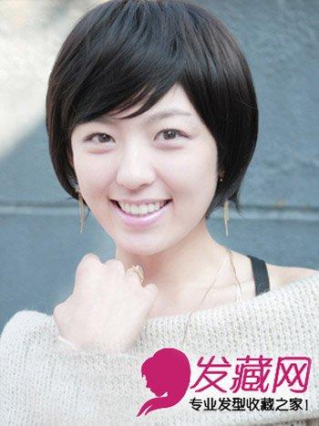 女生流行短发 时尚可爱的蘑菇头女生(7)