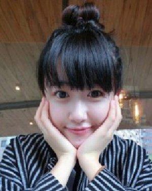 怎么扎花苞头最清爽 韩式的丸子头扎发