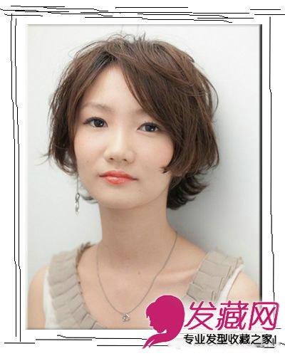 日系清新短发设计 自然刘海显小清新(7)图片