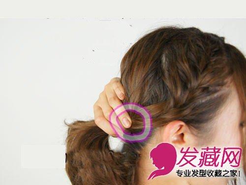 中长发怎么扎好看 马尾 编发蓬松编发扎发造型(5)