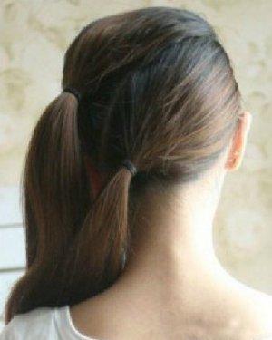 清甜四叶草编发发型设计 小清新风赚足回头率