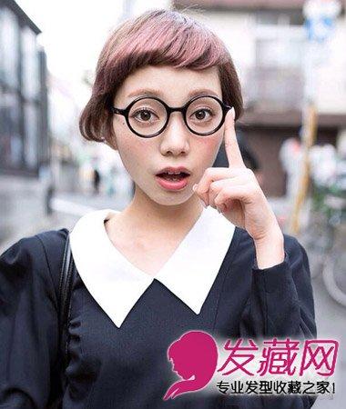 可爱呆萌的齐刘海短发发型 矮个女修颜首选(3)