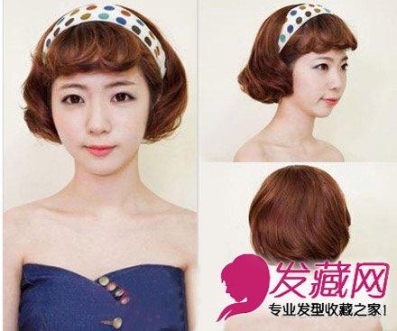 2015年减龄短发烫发发型合辑 韩式短发一秒减龄(3)图片