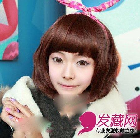 秋冬做个文艺 →可爱俏皮的日韩短发发型 日韩流行短发烫发 →2015