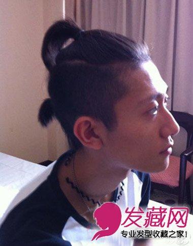 张一山发型 帅气搞怪挡不住(7)图片