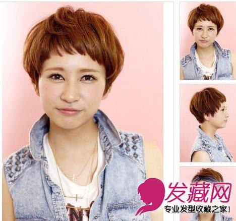 > 什么发型最减龄 9款短发显修颜魔力(7)  导读:碎发轻盈短发 发型图片